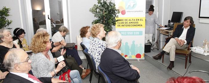 Ramón Torrelledó, en las Tardes de Tertulia del Club de Amigos de Intereconomía