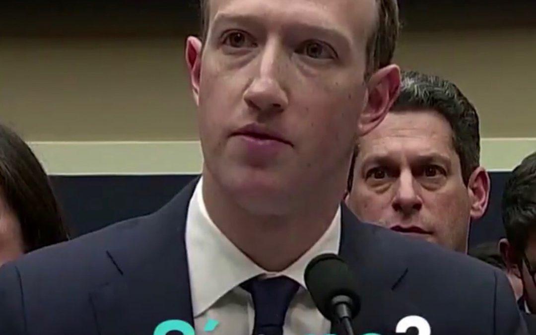 Zuckerberg: Un interrogatorio muy jugoso