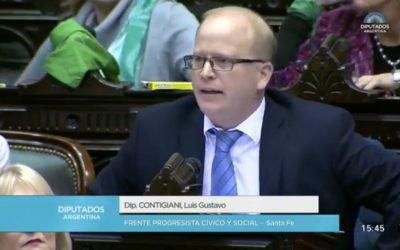 Diputado Contigiani Luis Gustavo – Sesión 13-06-2018 – PL
