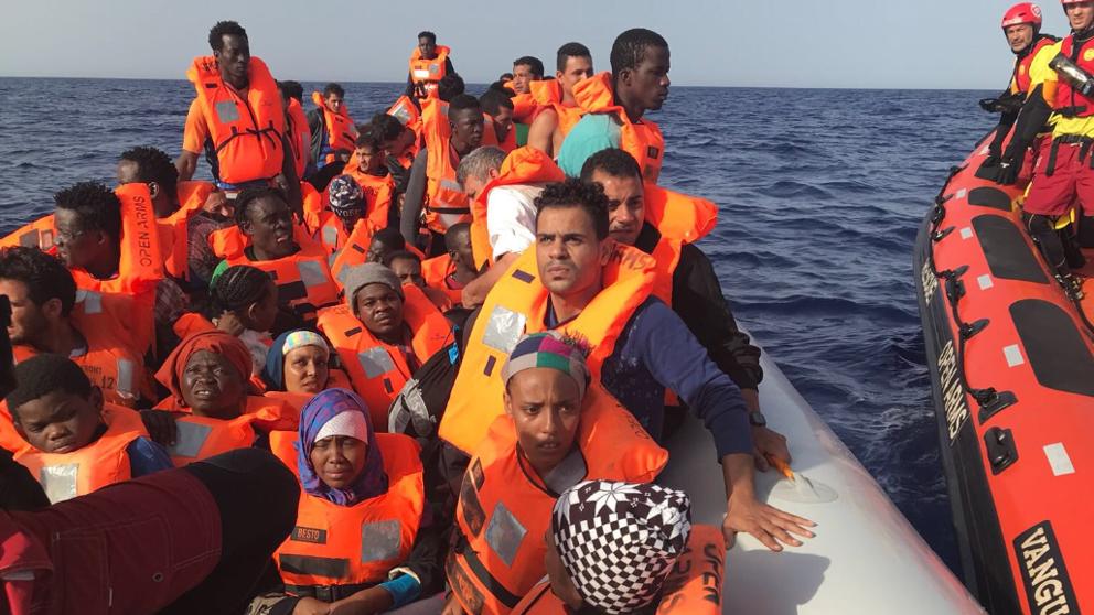 El Gobierno autoriza el desembarco en Barcelona del buque Open Arms, con 60 inmigrantes a bordo