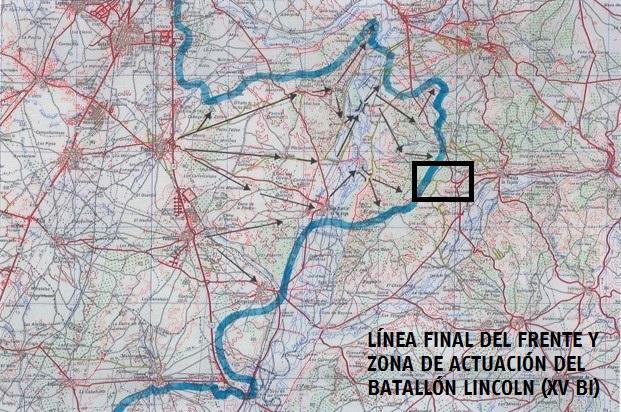 Breve reseña de la actuación del Batallón Lincoln en el Jarama (16-27 de febrero de 1937)